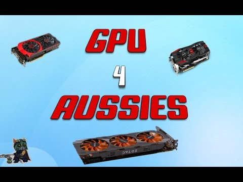 BEST GRAPHICS CARD TO BUY IN AUSTRALIA