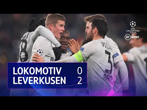 Lokomotiv Moscow vs Bayer Leverkusen (0-2) | UEFA Champions League Highlights