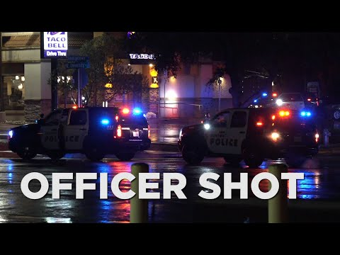 Denton police officer in critical condition after shooting during traffic stop