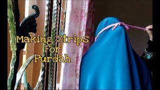 Download Video Cara Menjahit Tali Purdah | How To Make Purdah Strips MP3 3GP MP4