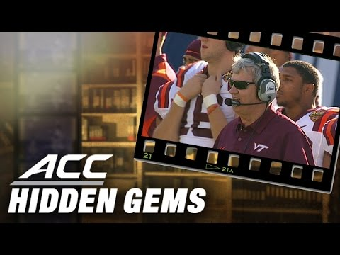 Frank Beamer Laughs off Accidental Punch to the Head | ACC Hidden Gems