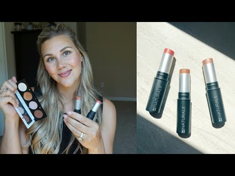 Organic Makeup Tutorial Using All Cream Products! ft: Au Naturale & The Organic Skin Co.