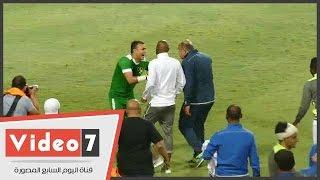 وصلة هزار بين الحضرى وشيكابالا ومدرب حراس الزمالك عقب الفوز أمام دجلة