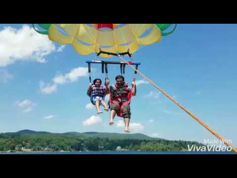 Parasailing at Lake George New York