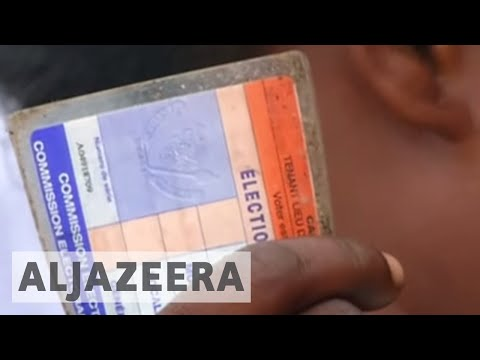 DR Congo sets presidential election for December 2018