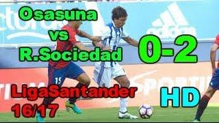 Video Gol Pertandingan Osasuna vs Real Sociedad