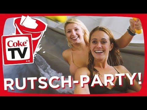 Mit Marie & Nicole Cross im Tropical Island! | #CokeTVBucketlist