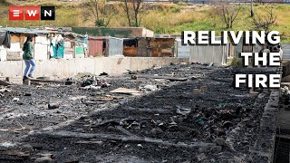 Residents of Gazine informal settlement relive the events of a deadly fire that tore through a Johannesburg building that they were using as shelter.  #CityOfJohannesburg #NaturalDisaster #KwaMaiMai