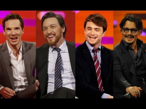 The Graham Norton Show S18E09 -  Johnny Depp, Benedict Cumberbatch, James McAvoy, Daniel Radcliffe