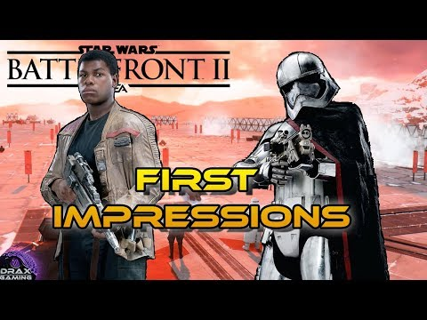 Download Youtube: Finn And Phasma First Look! New Hero Gameplay Abilities and Thoughts (Star Wars Battlefront 2)