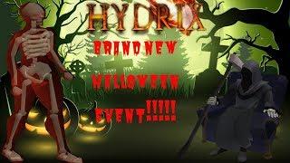 HYDRIX وهذه البرامج - العلامة التجارية الجديدة هالوين تحديث!!!| ضخمة الهبة + أول تعليق يفوز بالجائزة