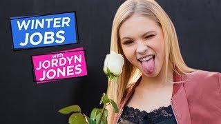 JORDYN JONES DIY FLOWER ARRANGEMENT | Winter Jobs w/ Jordyn Jones