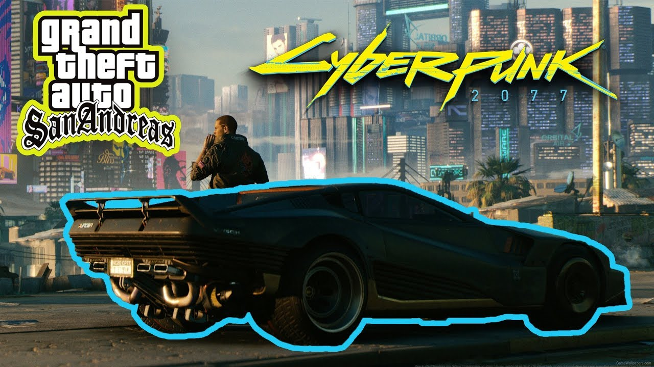 Quadra Car from Cyberpunk2077 - GTA SA