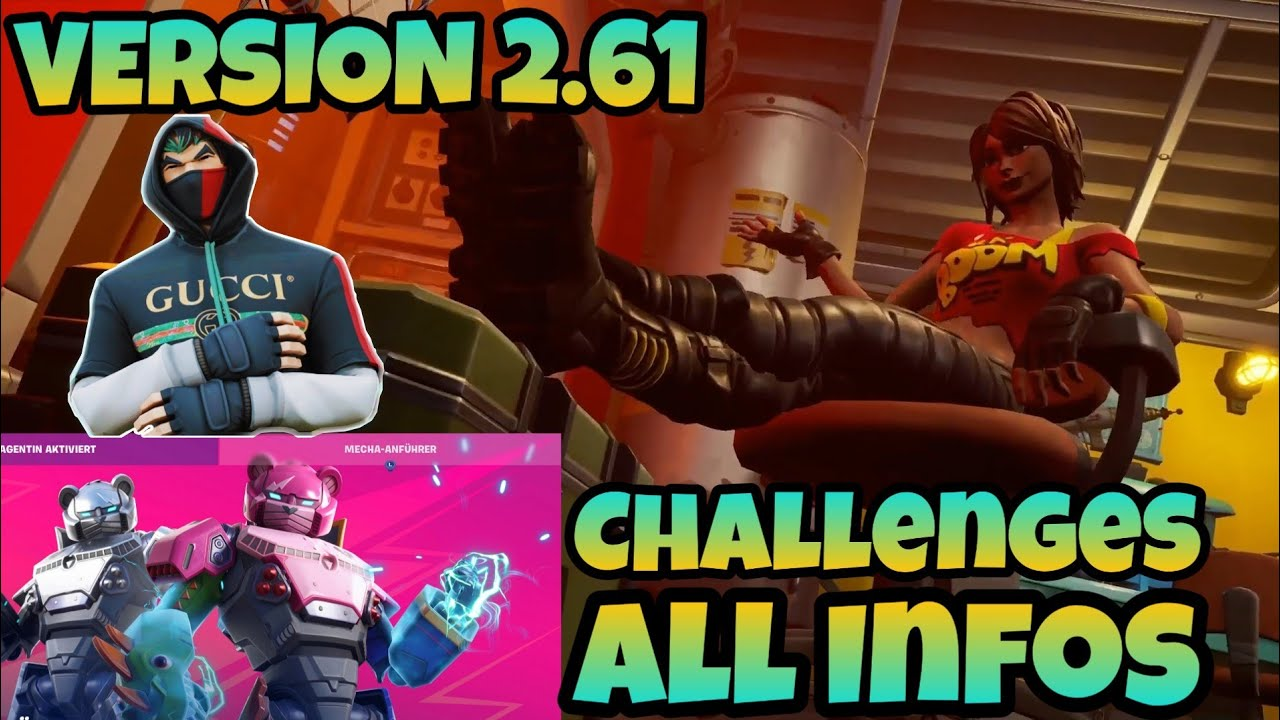 FORTNITE 2.61 UPDATE Week 3 | WHATS NEW | TnTina NOW ...