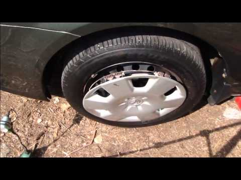 How To Change Wheel Cover Toyota Corolla Years 2002 2008