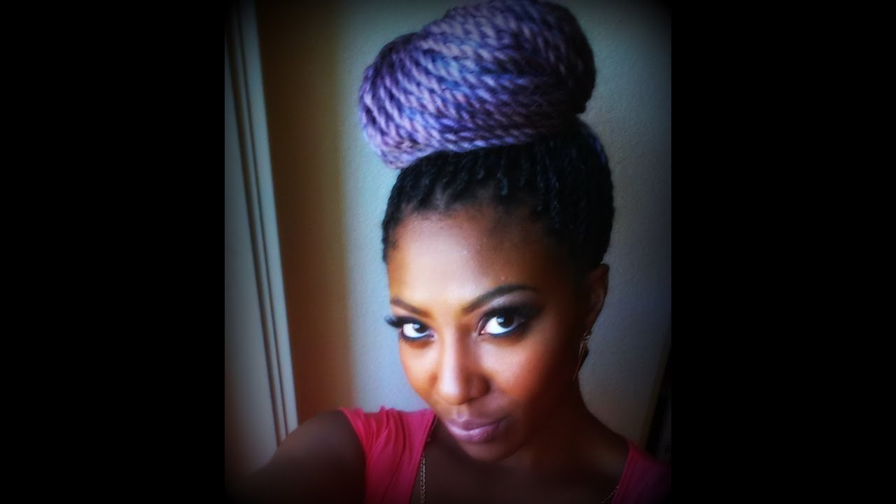 DIY Pastel Purple Senegalese Twist | From Color to ...