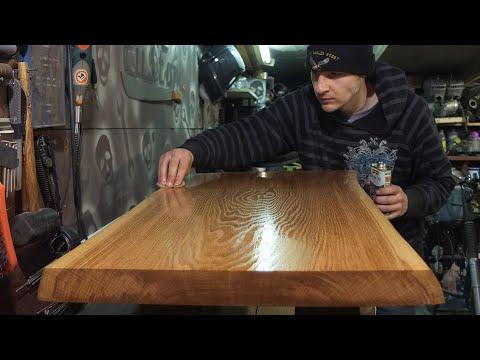 Дубовый стол своими руками