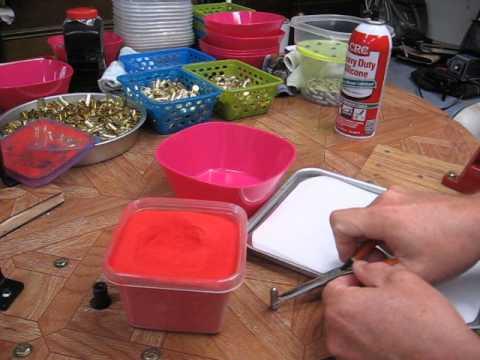 Alternative way to powder coat boolits