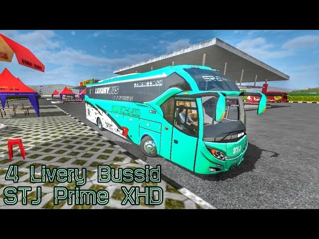 Berbagi Livery Bussid || Sudiro Tungga Jaya XHD || by Blahbloh #1