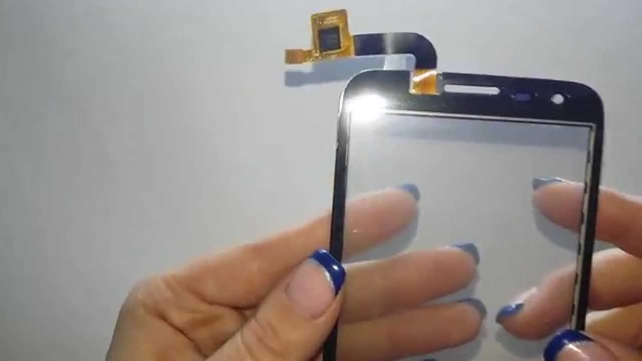 Заменить стекло на fly iq454