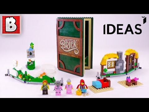 LEGO IDEAS Pop-Up Book Review! | Set 21315