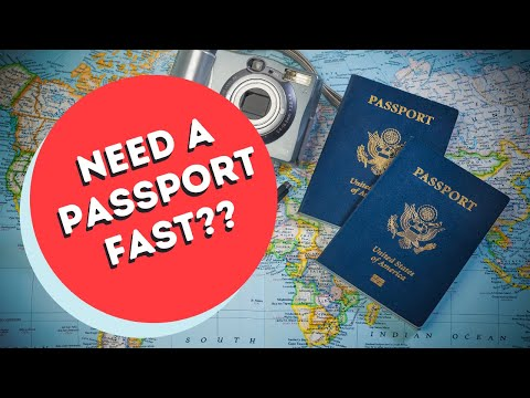 NEED A US PASSPORT FAST??  Here