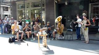 "Tuba Skinny - ""Tin Roof Blues"" - Royal St 4/9/12  - MORE at DIGITALALEXA channel"