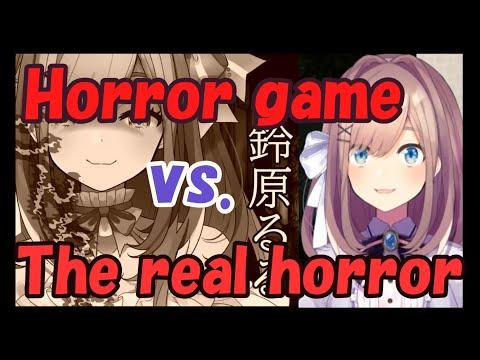 【Nijisanji】Horror Game Vs. The Real Horror