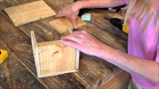 How To Build A Birdhouse From Scrap
