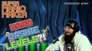 HARD DASHIE LEVELS?! - Super Mario Maker - This is impossible...