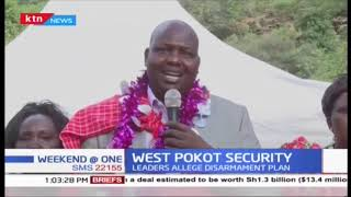 Leaders allege disarmament plan in West Pokot