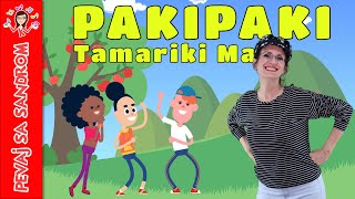 💖 Pakipaki, Tamariki Ma 💖 Pevaj Sa Sandrom   Sing With Sandra   Dečije pesme