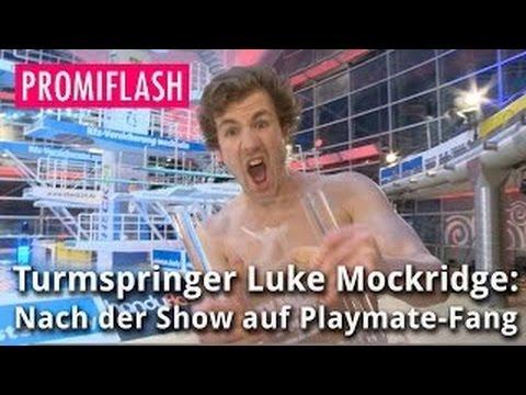 Turmspringer Luke Mockridge: Nach der Show auf Playmate-Fang
