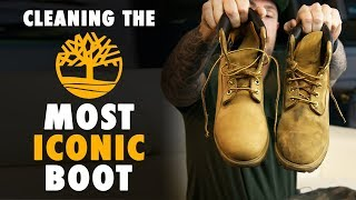 The Best Way To Clean Wheat Timberland Boots with Reshoevn8r
