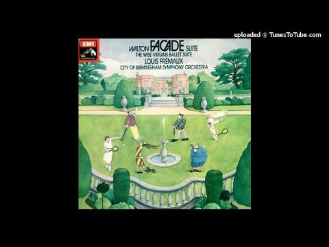William Walton : Facade, Suites for orchestra (1921-22 arr. 1926-38)