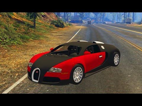 Gta 5 Bugatti Veyron Car Mod Download Youtube