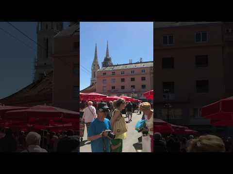 Bossoloji Travel Journal - Zagreb Dolac Market (June '17)