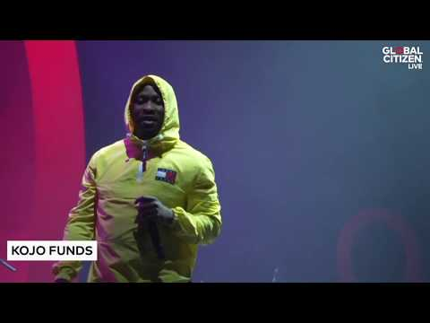 Kojo Funds Performs 'Finders Keepers'   Global Citizen Live in Brixton 2018