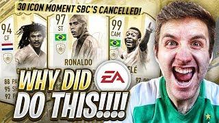EA CANCELS 97 R9 RONALDO...