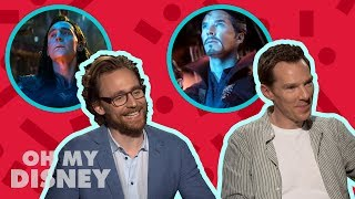 The Cast of Avengers: Infinity War Play Would You Rather | Oh My Disney Show by Oh My Disney