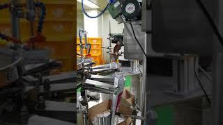 황사마스크 자동포장기계