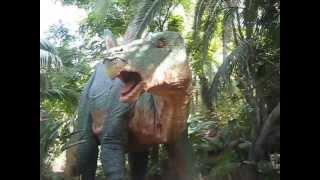 Parque Jurasico, atraccion de Universal Estudios Holywood, Los Angeles.CA.