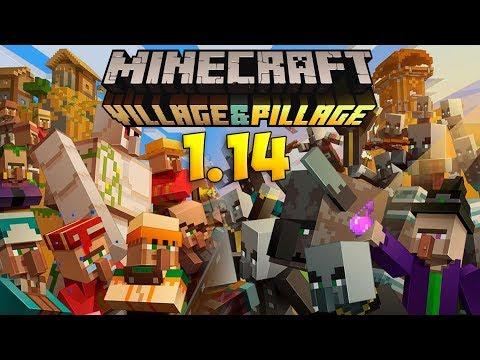видео: МАЙНКРАФТ 1.14 КРЕСТЬЯНЕ И РАЗБОЙНИКИ - РЕЛИЗ НОВОЙ ВЕРСИИ Minecraft 1.14
