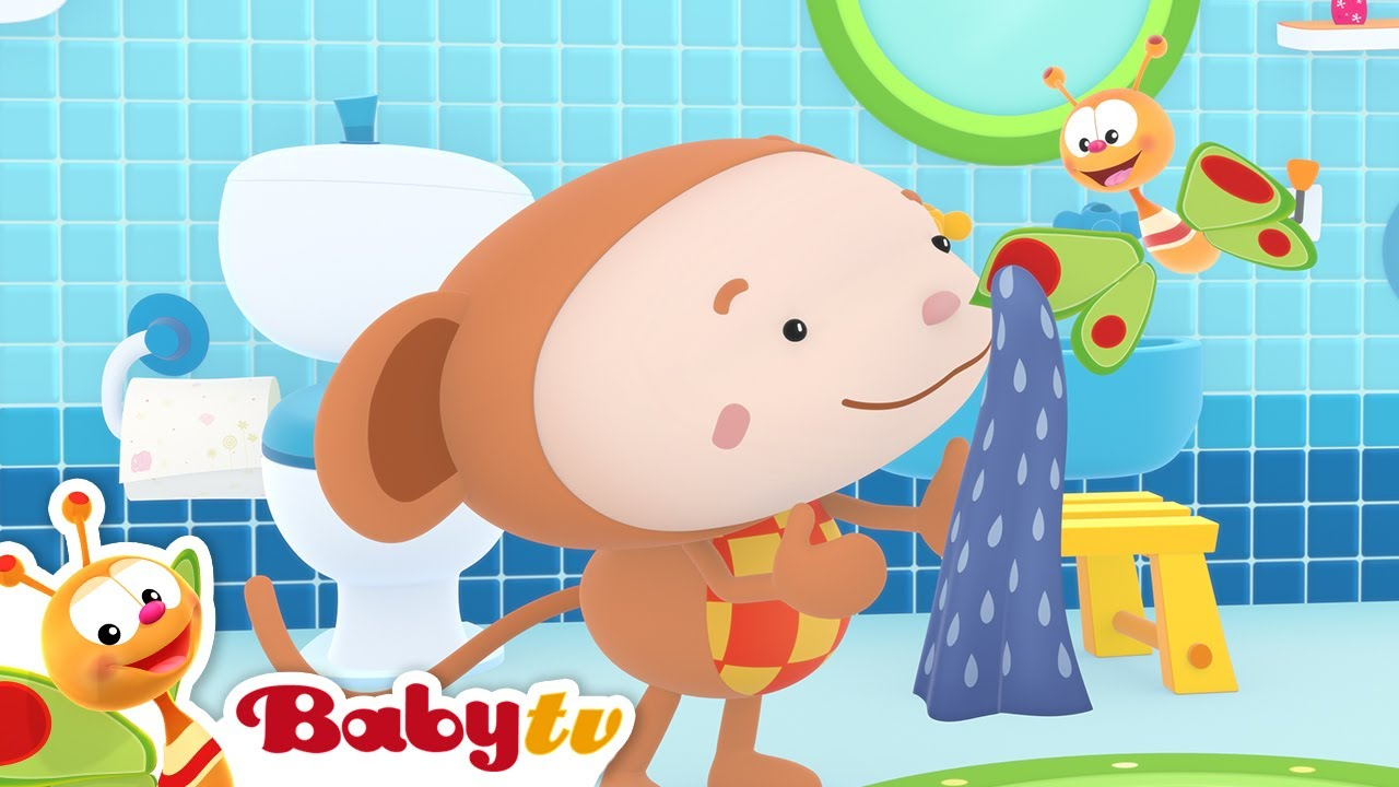 Wash Your Hands 🧼(Remastered with Lyrics)   Nursery Rhymes & Songs for Kids   BabyTV