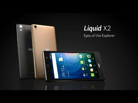 Acer Liquid X2 Smartphone – twin cameras for exploring your world