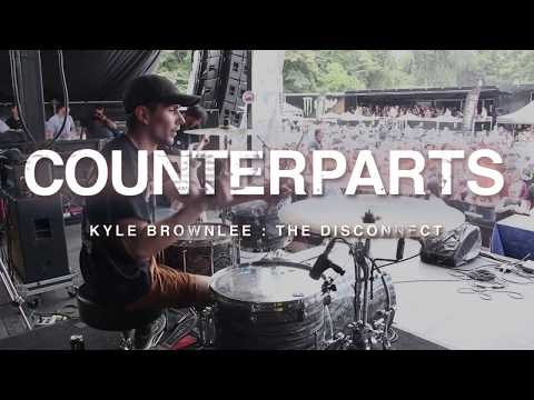 Counterparts - The Disconnect [Kyle Brownlee] Drum Cam [Warped Tour 2017]