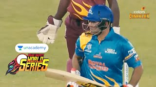 Unacademy RSWS Cricket Semi Final 1 | India Legends Vs West Indies Legends | Sixes And Boundaries