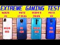 - Narzo 20 vs Redmi 9 Prime, Moto G9, E7+ Extreme Gaming Test with FPS | Best Gaming Phone under 10K?!