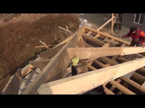 видео: Каркас крыши своими руками