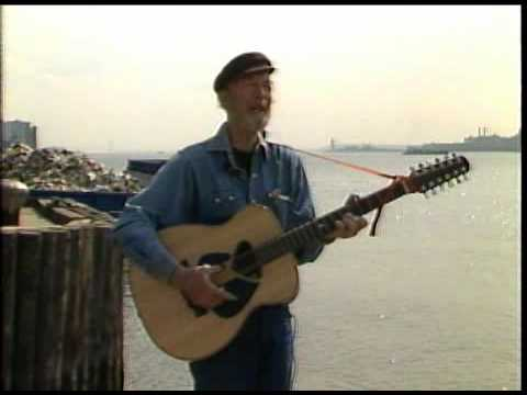 "Pete Seeger sings ""Garbage"" for conservation documentary, ca. 1986"